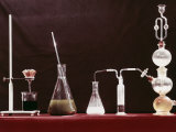 Laboratory Glassware Photographic Print by A. Villani