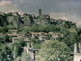 Fortress at Auvergne, France Photographic Print by Henrie Chouanard