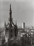 The Segmented Dome Covering of the Cathedral of Milan Photographic Print by A. Villani