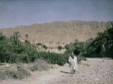 Inhabitant of an Oasis of El Kantara in Tunisia Photographic Print by Henrie Chouanard
