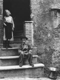 Old Couple Photographic Print by Luciano Ferri