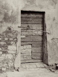 Door of a Country House Photographic Print by Vincenzo Balocchi