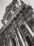 Facade of Santa Croce in Lecce Photographic Print by A. Villani