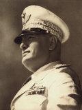 Benito Mussolini Photographic Print by A. Villani