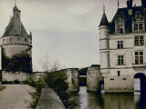 Detail of Chenonceau Castle Photographic Print by Henrie Chouanard