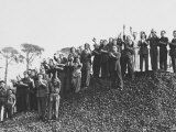 Group of Workers Photographic Print by A. Villani
