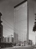Skyscraper in Milan Photographic Print by A. Villani