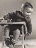 Portrait of an Infant Photographie par A. Villani