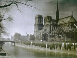 The Cathedral of Notre-Dame, Paris Photographic Print by Henrie Chouanard
