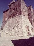 La Rocca of the Aldobrandeschi in Arcidosso, in the Province of Grosseto Photographic Print by Vincenzo Balocchi