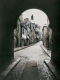 Street in Dinan Photographic Print by Henrie Chouanard
