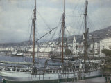 The Port of Bastia, Corsica Photographic Print by Henrie Chouanard
