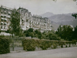 Montreux Palace Hotel, Montreux Photographic Print by Henrie Chouanard