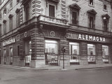 Alemagna Store Photographic Print by A. Villani