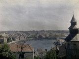 Panorama of Saint-Jean-De-Luz in Aquitaine Photographic Print by Henrie Chouanard