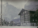 Grindelwald, Famous Tourist and Winter Sport Destination, Switzerland Photographic Print by Henrie Chouanard