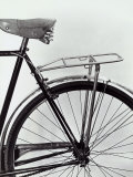 Mudguard, Seat and Rear Tire of a Bicycle Photographic Print by A. Villani