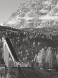 Trampoline in Cortina Photographic Print by A. Villani