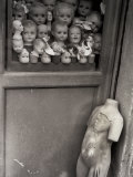 Dolls' Heads in a Wardrobe Photographic Print by Vincenzo Balocchi