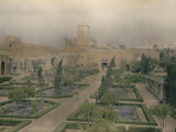 The Garden Inside the Walls of the Kasbah of Oudaia, Rabat, Marocco Photographic Print by Henrie Chouanard