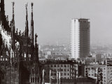View of Milan from the Roof of the Cathedral Photographic Print by A. Villani