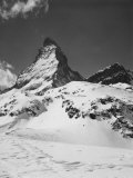 The Snowy Peak of the Matterhorn Photographic Print by A. Villani