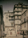 Bastia in Corsica. a Street Photographic Print by Henrie Chouanard