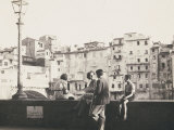 Florence. on the Lungarno Acciaioli Photographic Print by Ludovico Pacho