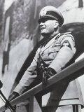 A. Villani - Benito Mussolini Fotografická reprodukce