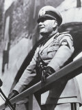Benito Mussolini Fotografie-Druck von A. Villani