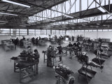 Laboratory at State Run Professional Institute for the Industrialist and Artisan Alfredo Ferrari Photographic Print by A. Villani