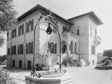 Villa Rimini, a Project of the Toschi Firm Photographic Print by A. Villani
