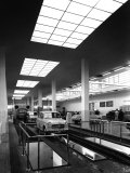 Inside of a Fiat Factory in Bologna, the Cars are Being Assembled by the Workers Photographic Print by A. Villani