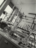 Instruments Inside a Chemical Laboratory Photographic Print by A. Villani