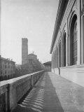 The Terrace of the Town Theater in Bologna Photographic Print by A. Villani