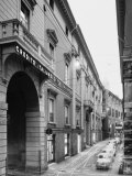 View of the Facade of the Palace Where the Credito Italiano in Modena is Located Photographic Print by A. Villani