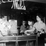 Machine for Ice Cream at Cristallo Bar in Bologna Photographic Print by A. Villani