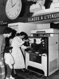 Carpigiani Machine for Ice Cream Photographic Print by A. Villani