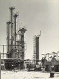 External View of the Refinery, Sarom Factory Photographic Print by A. Villani