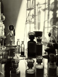 Laboratory of the Naarden Leepen Factory, Specializing in the Production of Base for Perfume Photographic Print by A. Villani