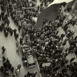 Aerial View of an Authorized Political Demonstration Photographic Print by Marion Wulz