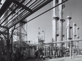 External View of the Sarom Refinery Photographic Print by A. Villani
