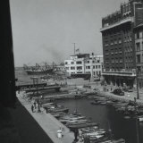 Canal in Trieste and a Stage in the Demolition of Verde Bridge Photographic Print by Marion Wulz