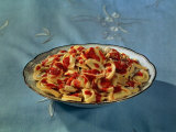 Plate of Tortellini Photographic Print by A. Villani