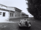 Outside View of a Ferrari Factory Photographic Print by A. Villani