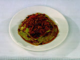 Typical Emilian Dish, Lasagna Photographic Print by A. Villani