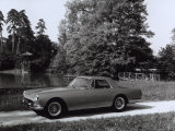 Ferrari-Pininfarina Parked in Front of a Pond Surrounded by Vegetation Photographic Print by A. Villani