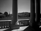 Few Columns on the Pronaos of Villa Romita, Located on the Hills Surrounding Bologna Photographic Print by A. Villani