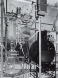 Detail of an Apparatus in the Laboratory of the Recordati Chemical and Pharmaceutical Factory Photographic Print by A. Villani
