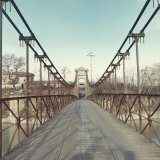 Car Bridge over a River Photographic Print by A. Villani